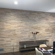 3D Ivory White Oak Walling
