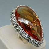 Turkish Handmade Jewelry 925 Sterling Silver Alexandrite Stone Women Ring Sz 7