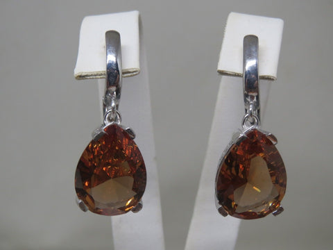 Turkish Handmade Jewelry 925 Sterling Silver Alexandrite Stone Ladies' Earrings