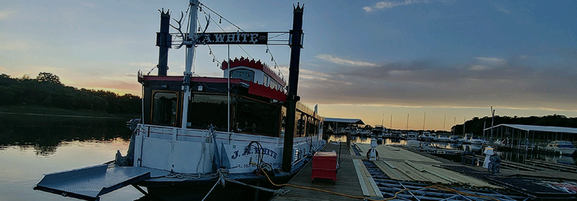 J.A White Riverboat NoCoast Dinner