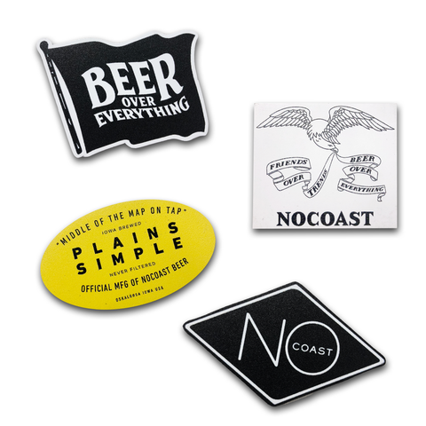 NoCoast Magnets (4-Pack)