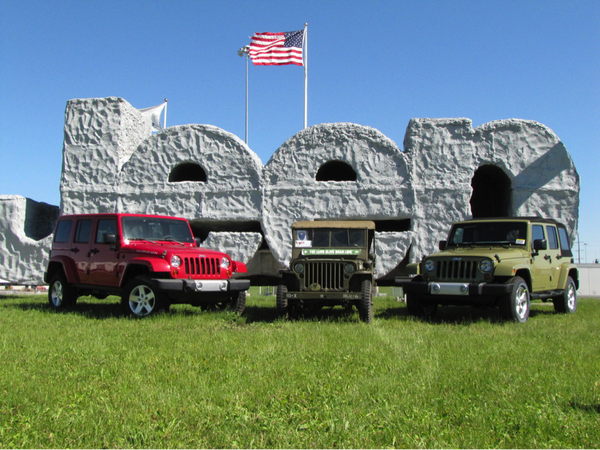 Jeep and Alien Sunshade have History in Toledo