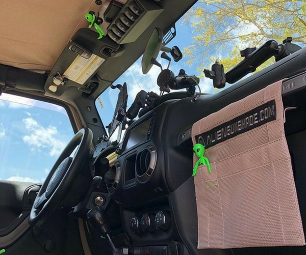 Alien Sunshade Jeep Accessories and Clothing