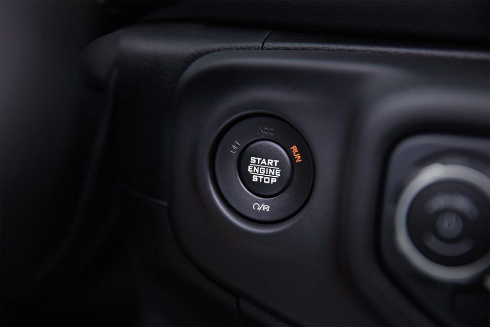 Jeep Wrangler JL Push Button Start - Which Jeep do I have JK or JL