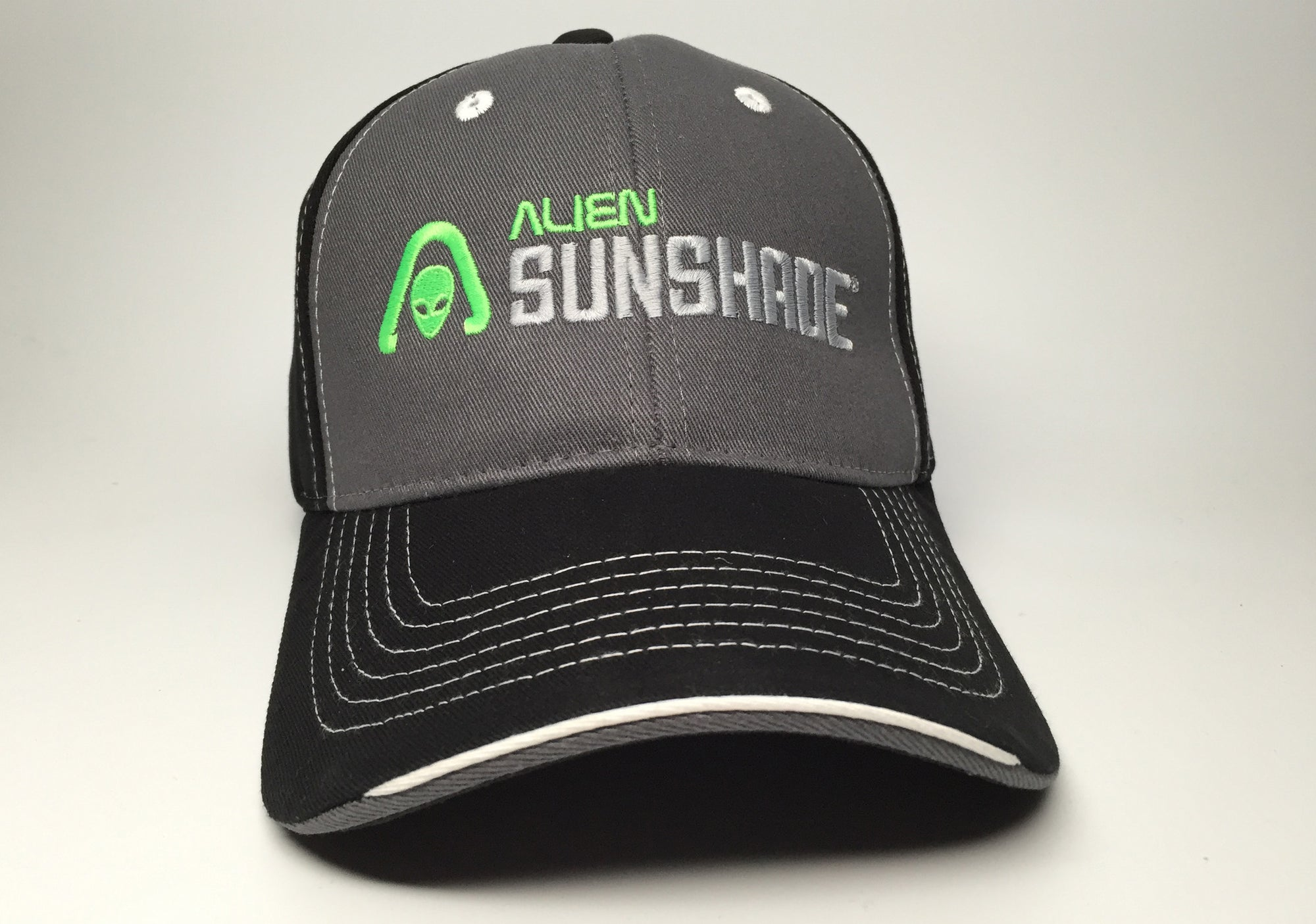 Alien Sunshade Embroidered Hat