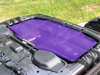 Alien Sunshade Jeep Wrangler JLU Rear Passenger Sun Shade Mesh Top for 4-Door - 2018+ (New Body Style)