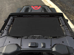 Alien Sunshade Jeep Wrangler JL Front Black Sun Shade Mesh Top