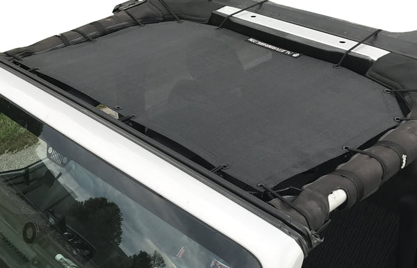 Alien Sunshade Jeep Wrangler JKF Provides UV Protection for Your 2-Door or 4-Door JK or JKU (07-17)