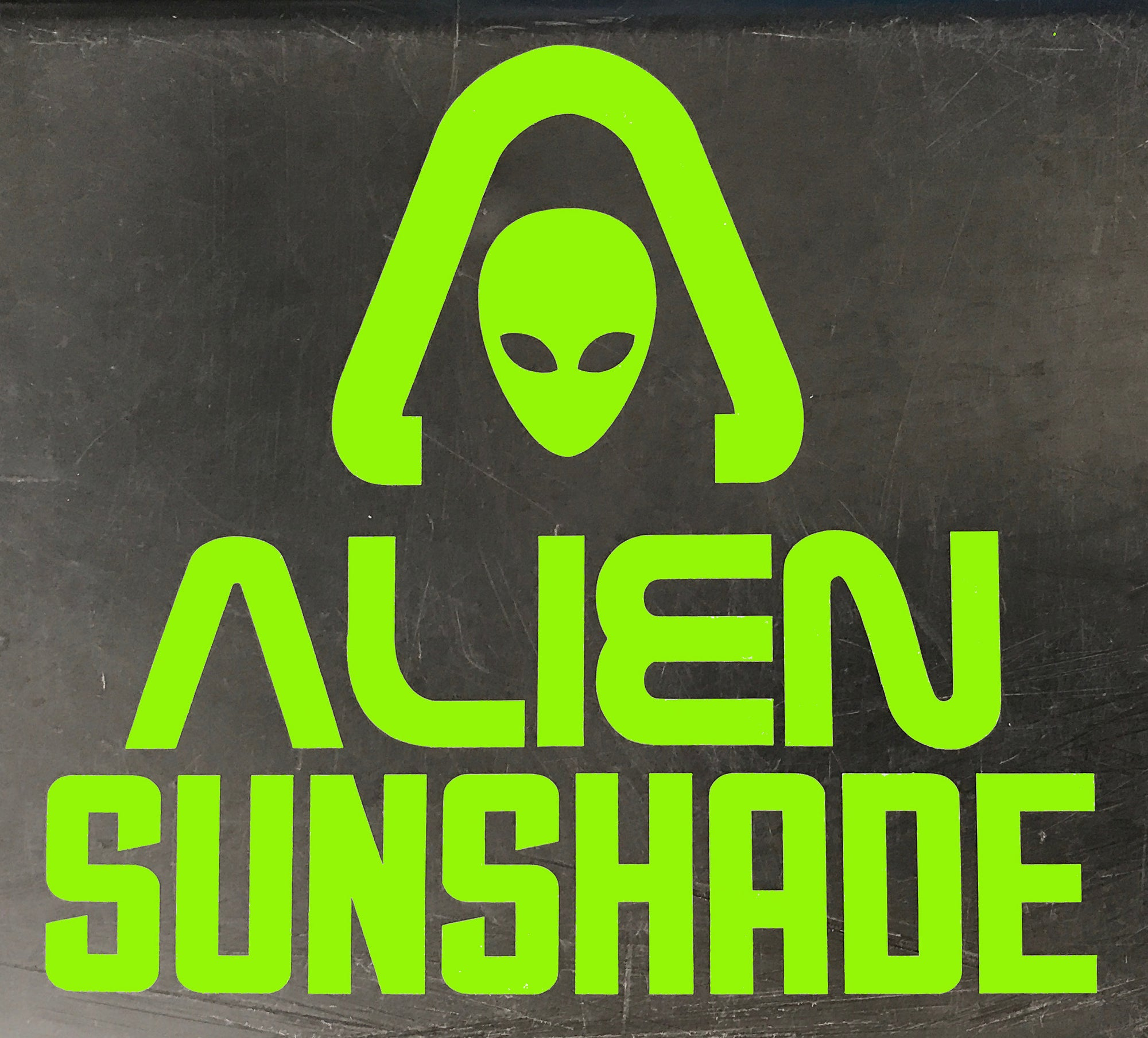 Alien Sunshade Decals - 2-pack