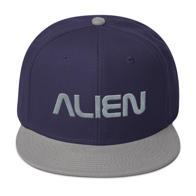 ALIEN Embroidered Snapback Hat