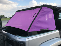 Alien Sunshade Jeep Wrangler JKCG Mesh Cage Rear Cargo Area Sun Shade 4-Door JKU (2007-2018)