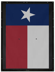 Texas Flag Alien Sunshade Jeep Wrangler JK 2-Door JKFB Sun Shade Mesh Top