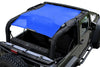 Blue Alien Sunshade Jeep Wrangler JK 2-Door JKFB Sun Shade Mesh Top