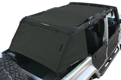 Alien Sunshade Jeep Wrangler Shade Cage - 2007-2018 (JKU) 4-door Wrangler