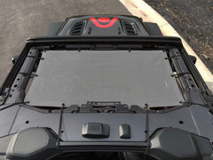 Alien Sunshade Jeep Wrangler JL Front Sun Shade Mesh Top for 2-Door & 4-Door - 2018+ (New Body Style)