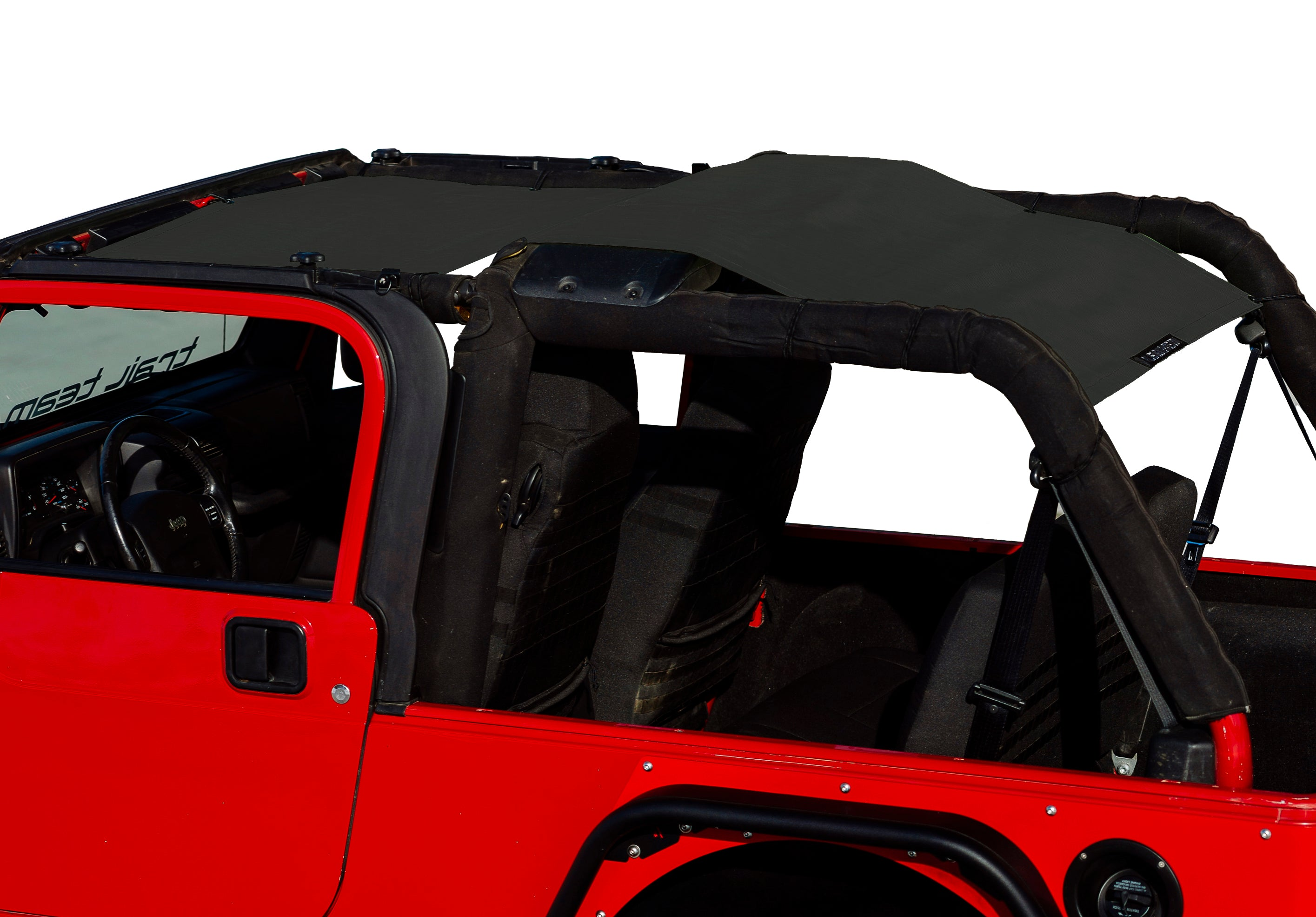 Alien Sunshade LJFB Jeep Wrangler LJ Sun Shade Full Mesh Top Cover