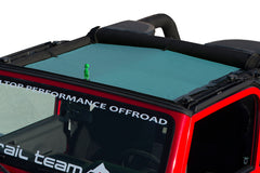 Alien Sunshade Jeep Wrangler Mesh Shade Top Cover Provides UV Protection for Your TJ or YJ (87-06)