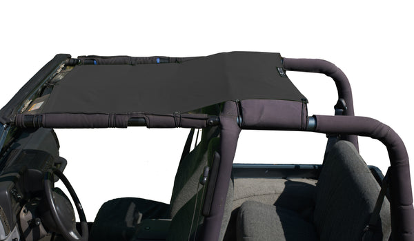 Alien Sunshade Jeep Wrangler TJK Mesh Shade Top Cover Provides UV Protection for Your TJ (1997-2006)