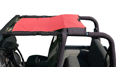 Alien Sunshade Jeep Wrangler TJK Mesh Shade Top Cover Provides UV Protection for Your TJ (1987-2006)