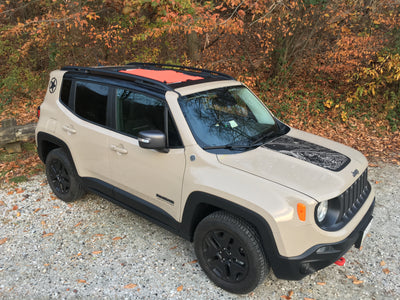 Alien Sunshade Jeep Renegade Sun Shade Mesh Top Lava Color MySky