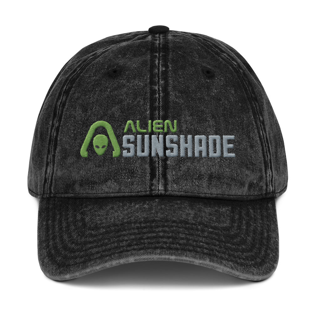 Alien Sunshade Vintage Cotton Twill Cap