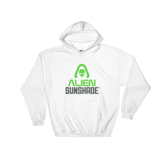Alien Sunshade Hoodie Sweatshirt with Front Pouch Pocket