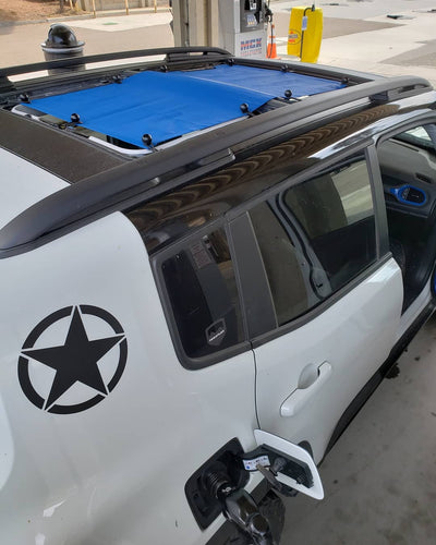 Alien Sunshade Jeep Renegade Sun Shade Mesh Top Blue Color MySky