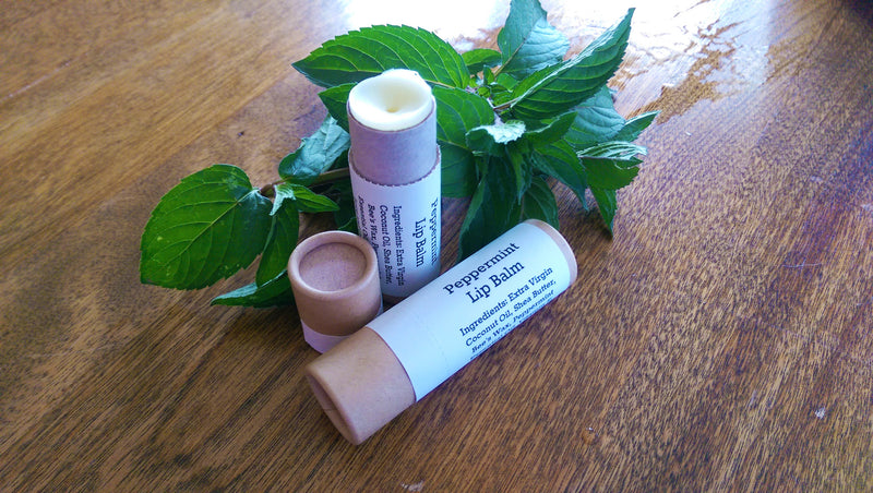 Peppermint Lip Balm 0.3oz Paper Tube