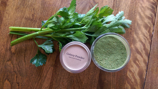 Celery Powder 8oz Mason Jar