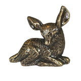 Fawn Drawer Knobs - Deer Drawer Knobs in Brass