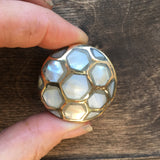 Mother of pearl cabinet knobs - Pearl inlay drawer knobs