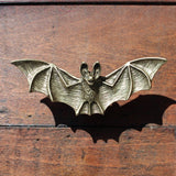 Bat Drawer Knobs in Brass