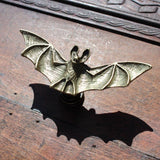 Bat Furniture Knobs in Brass
