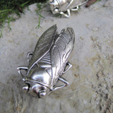 Cicada Drawer Knobs cabinet Knob in silver