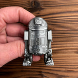 Star Wars Drawer Knobs in Silver R2D2