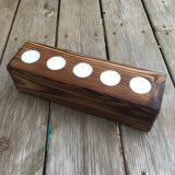 Tea light holder for rustic modern decor