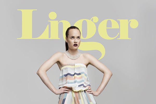 LINGER MAGAZINE - Art Nouveau Issue: July 2015