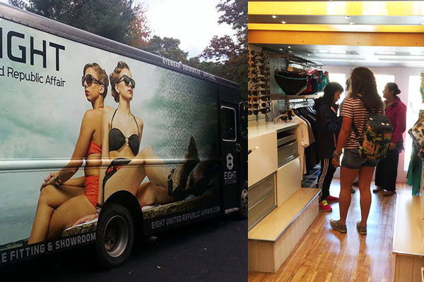 A FASHION MOBILE SHOWROOM