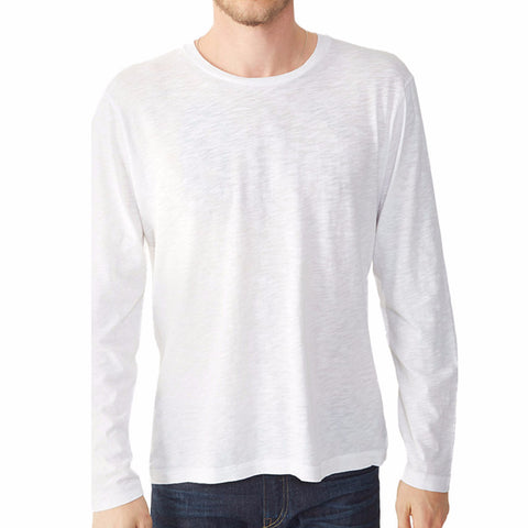 Heathered Crew Long Sleeve