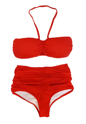 Hot Rod Red Bikini Bottom