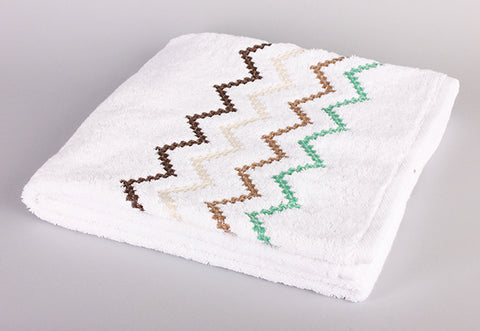 Colorful 3 Zigzag Towel
