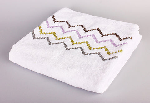 Colorful 1 Zigzag Towel