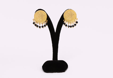 18K Gold plated Iconic Cleopatra Dangling Earrings