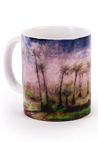 Rural Impressions Palm Tree Scenery Mug