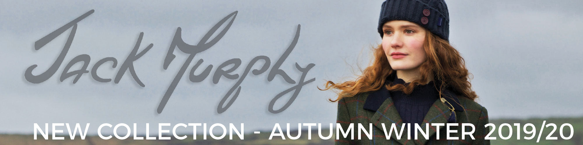 Jack Murphy Autumn Winter 2019 Has Arrived. The Very Latest Collection from Jack Murphy has just arrived.