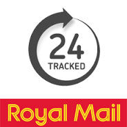 Royal Mail 24 hours tracked service at holland's