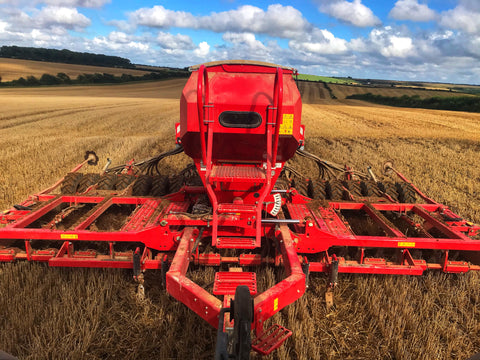 Horsch harvest machine
