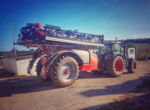 new farm sprayer with tractor