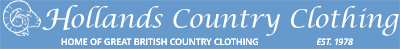 Holland's Country Clothing - Home of great British Country Clothing
