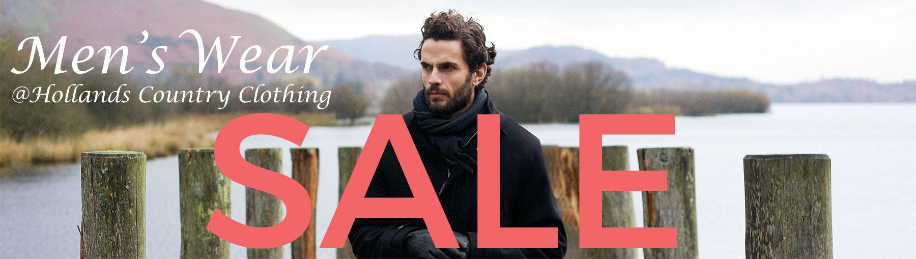 MENS WEAR COUNTRY CLOTHING SALE AT HOLLANDS COUNTRY CLOTHING